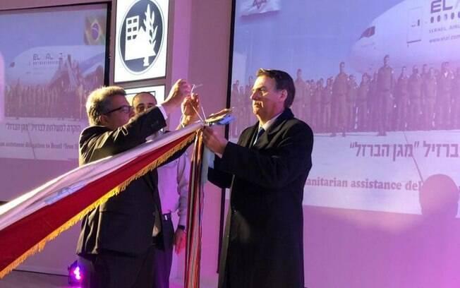 Presidente Jair Bolsonaro voltou a falar sobre a ideia de criar escritório em Jerusalém: