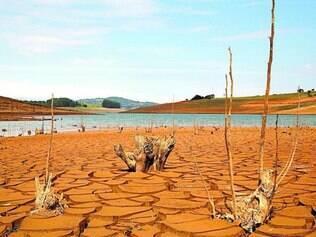Sistema Cantareira. Represa Jaguari/Jacareí (SP) está com apenas 13,2% de sua capacidade total