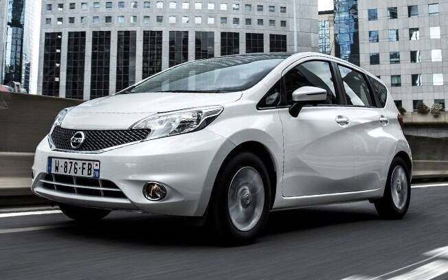 Rival do Honda Fit, o Nissan Note poderia ter sido produzido no Brasil, por usar a mesma mecânica do March