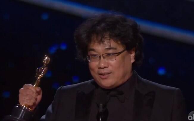Bong Joon-ho ganhou o Oscar em 2020 com