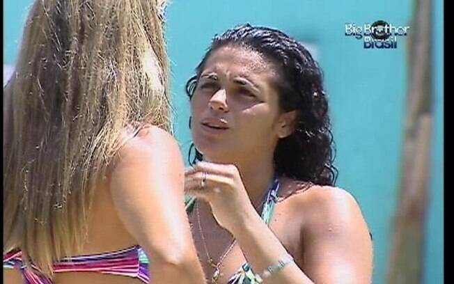 Noemí fala de Laisa para Fabiana