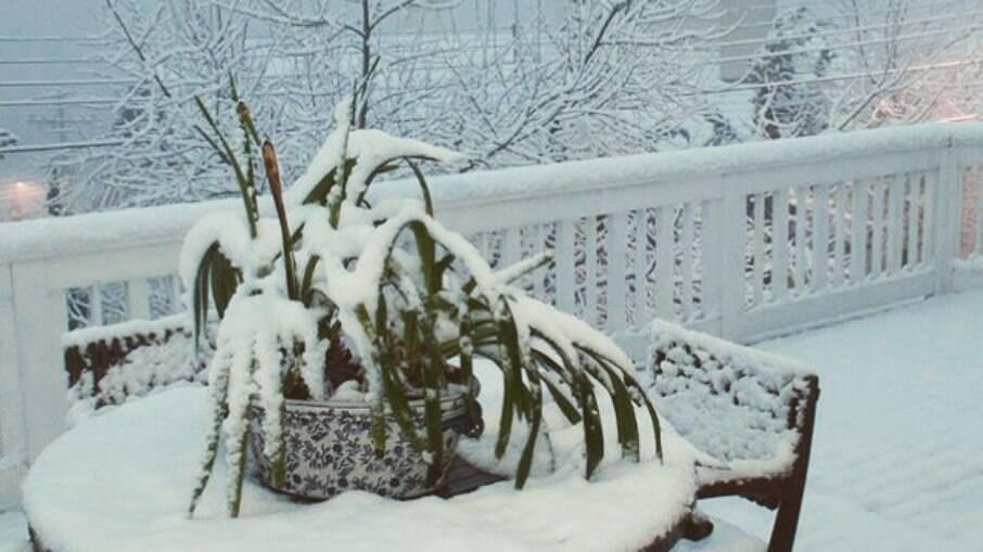 Neve em Gramado