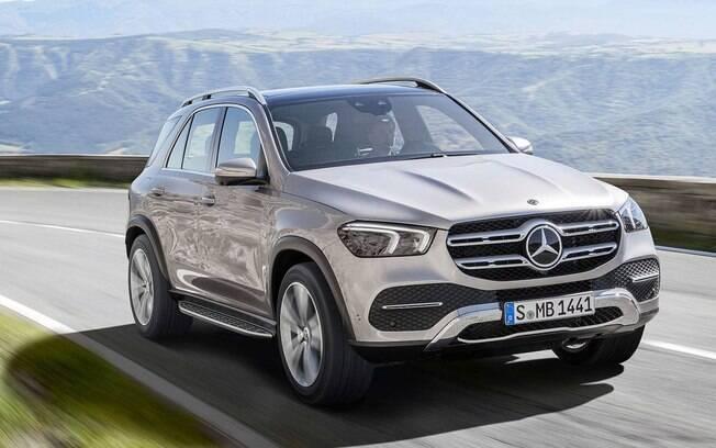 Mercedes-Benz GLE: mais potente e refinado,será mostrado ao público no Salão de Paris (França)