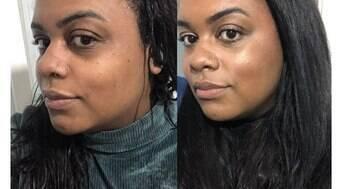 Base Matte para pele negra da Vult evita oleosidade e reduz marcas
