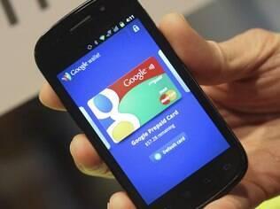 Sistema de pagamento móvel do Google, Wallet usa tecnologia NFC