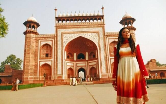 Jaipur, a cidade cor de rosa, foi cenário para a novela