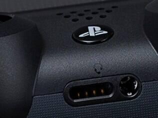 DualShock 4 tem entrada para headsets