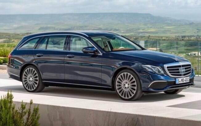 Beleza e muito luxo fazem da Mercedes-Benz E-Class Wagon, uma das melhores da categoria no mundo