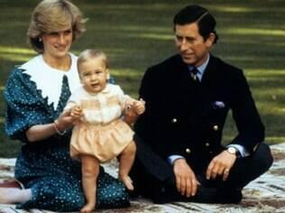 Charles e Diana tiveram