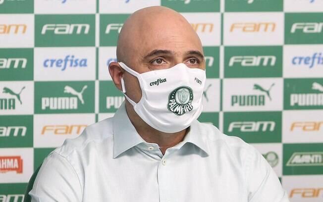 Coletiva do Palmeiras