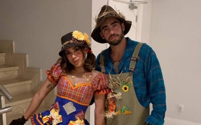 Anitta e Pedro Scooby