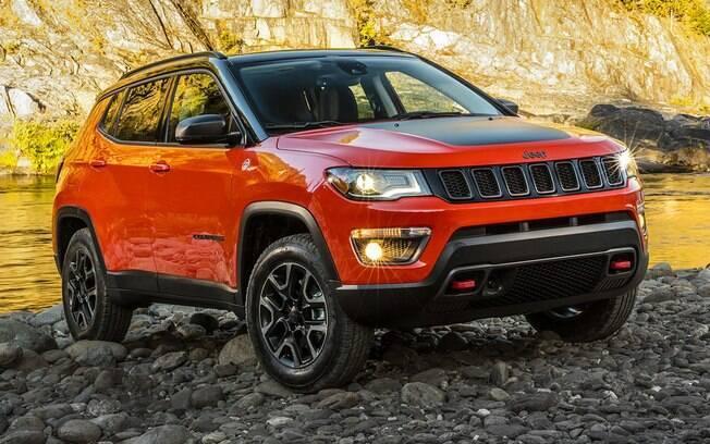Jeep Compass volta a ser o SUV mais vendido do Brasil superando o Renegade no mês passado