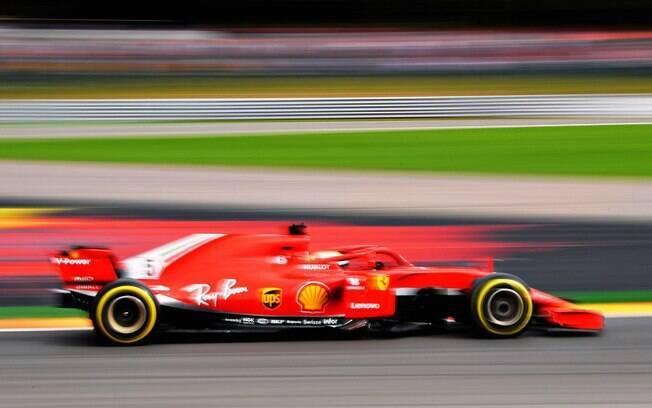 Sebastian Vettel venceu o GP da Bélgica de Fórmula 1