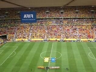 Estádio em Brasília apresentou muitos problemas