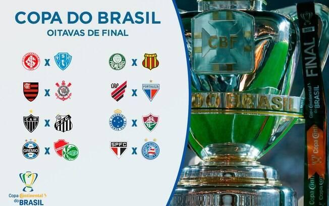 Jogos das oitavas da Copa do Brasil