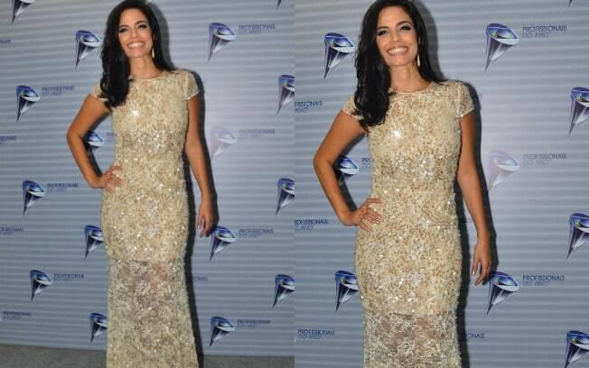 O look de Emanuelle Araújo foi o melhor em uma das votações promovidas semanalmente pelo iG Gente