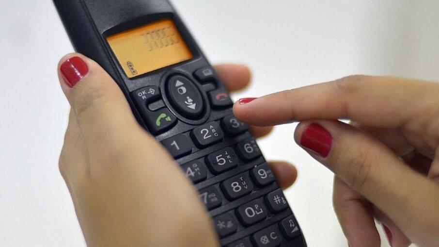 As chamadas viriam com 0303 no telefone