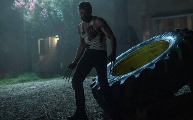Hugh Jackman em cena do filme
