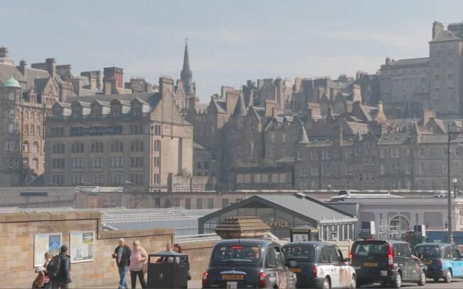 Construções antigas em Edimburgo
