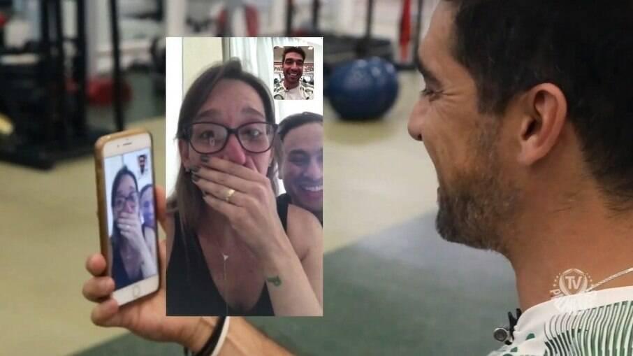 Abel Ferreira surpreendeu e emocionou torcedores do Palmeiras com ligação