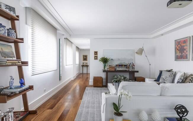 A presença de elementos que remetam à natureza na decoração é muito comum na arquitetura brasileira