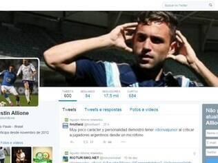 Jogador do Palmeiras não ficou nada satisfeito com as críticas feitas pelo ex-treinador