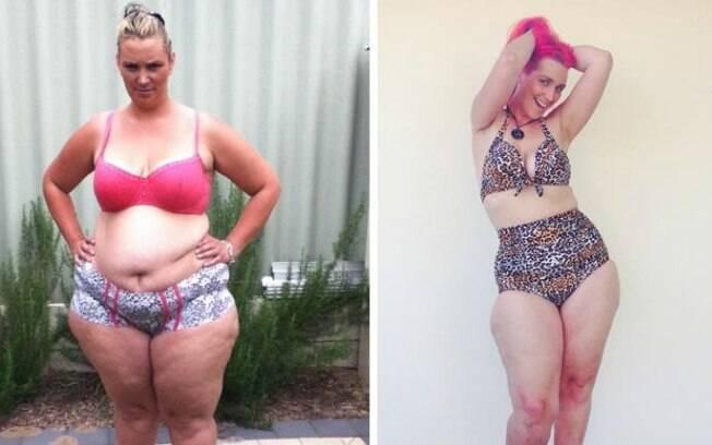Após emagrecer os primeiros quilos, Casey Gemell passou a criar novos hábitos, como correr e uma dieta mais saudável