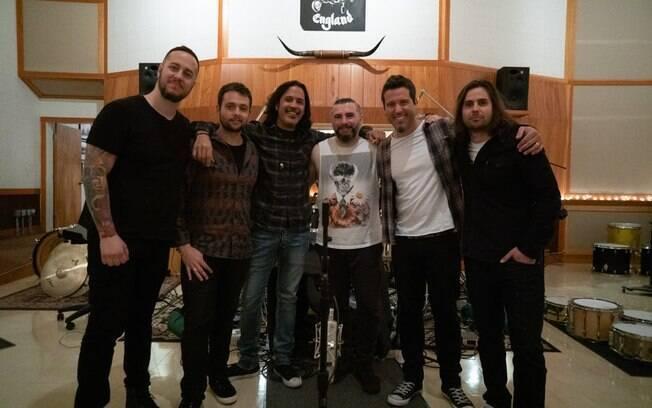 Ego Kill Talent contou com a participação do baterista do System of a Down, John Dolmayan, na gravação de novo álbum
