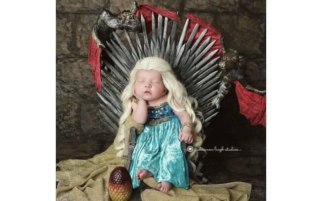 A fotógrafa Shannon Leigh fez um ensaio fotográfico com recém-nascidos vestidos de personagens de