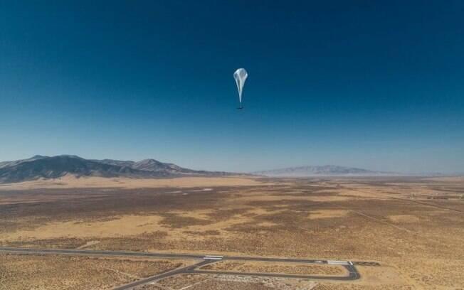 Balão de internet do Google Loon quebra recorde em tempo de voo