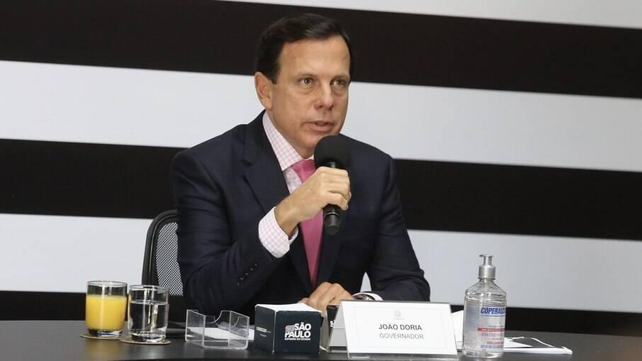 Governador do estado de São Paulo, João Doria (PSDB)