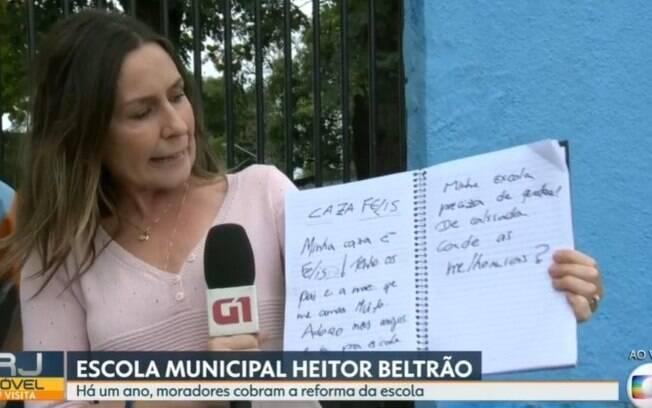 Susana, a repórter da Globo