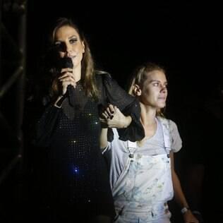 Ivete Sangalo e Carolina Dieckmann