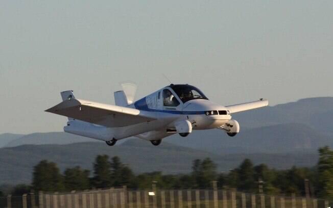 Primeiro carro voador é o passo inicial para o desenvolvimento do próximo modelo, que decola na vertical