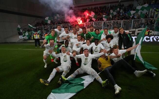 Ferencváros foi campeão húngaro com o brasileiro Isael Barbosa no time