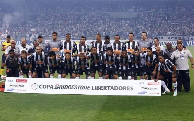 Atlético-MG posa para foto antes da final da  Copa Libertadores 2013