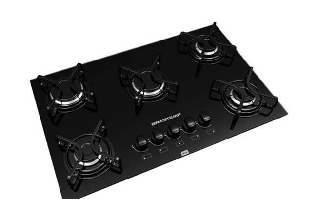 O cooktop de 5 bocas da Brastemp é automático e custa R$ 559. Clique na imagem para comprar