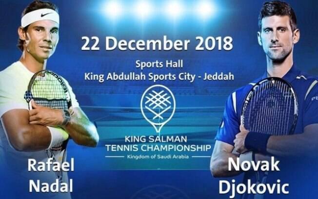 Anistia Internacional criticou evento de Nadal e Djokovic na Arábia Saudita