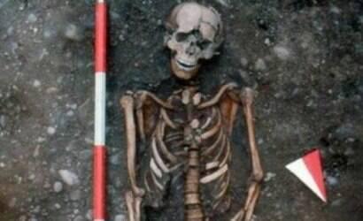 Esqueleto indica uma das torturas mais cruéis da História
