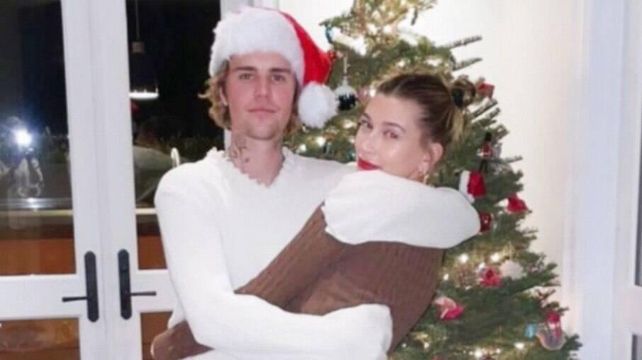 Justin Bieber e a mulher