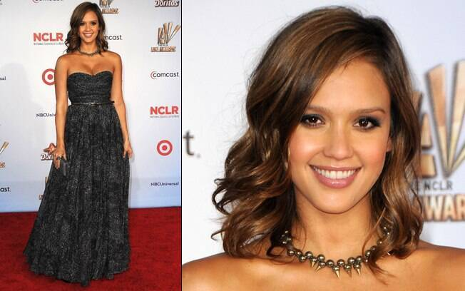 Jessica Alba brilhou no ALMA Awards