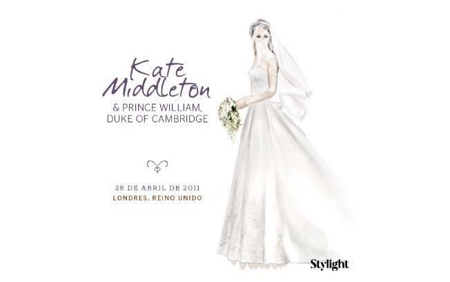 Vestido de noiva: Kate Middleton