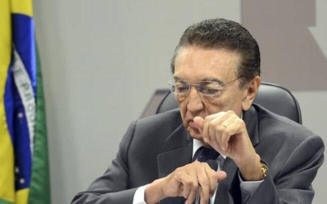 O ex-ministro de Minas e Energia Edison Lobão: ele é um dos alvos do presidente em exercício para votação no Senado