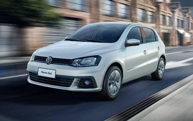 Volkswagen Gol: líder no ranking da Fenabrave e também o carro mais procurado no site Mercado Livre, e isso antes de chegar a nova geração