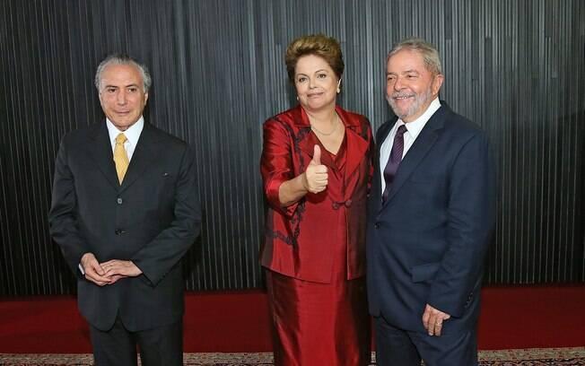 O presidente Michel Temer e os ex-presidentes Dilma Rousseff e Lula. Mas você sabe exatamente o que o presidente faz?