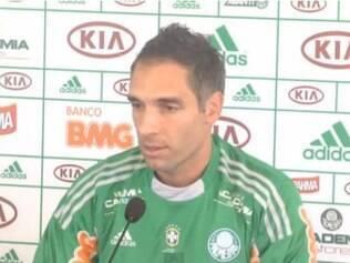 O goleiro Fernando Prass será um dos jogadores poupados contra o Boa