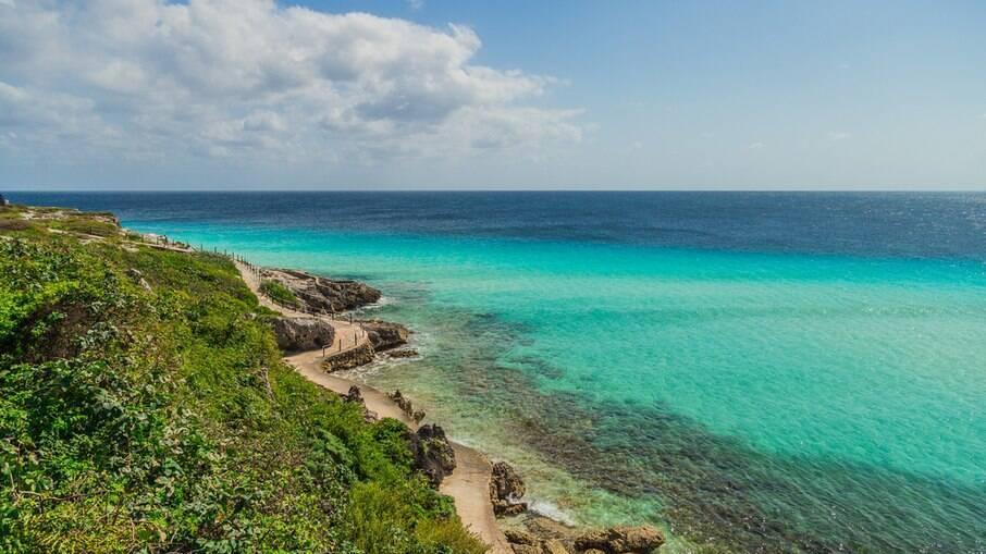 Ilhas no Caribe