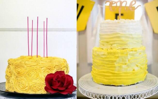 Bolos mais simples também podem fazer parte do aniversário, e o melhor é que eles costumam ser mais baratos