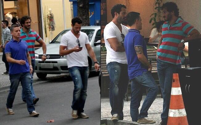 Malvino Salvador e Paulo Rocha: só no jeans