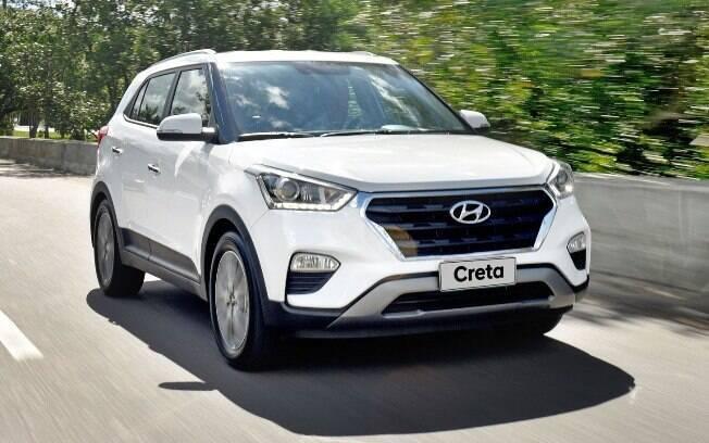 Hyundai Creta bem equipado, seguro e equilibrado, o SUV é uma boa pedida com motor 1.6 e câmbio automático